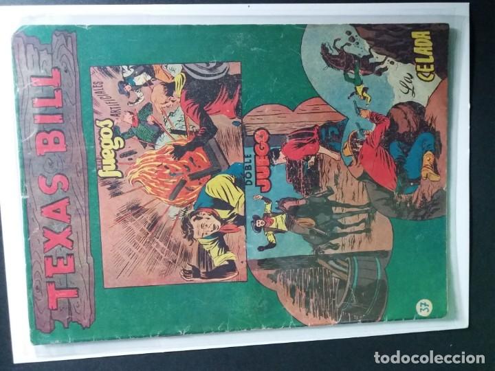 Tebeos: 34 EJEMPLARES DE TEXAS BILL VERTICALES 1954 - Foto 6 - 176591105