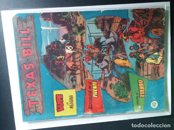 Tebeos: 34 EJEMPLARES DE TEXAS BILL VERTICALES 1954 - Foto 14 - 176591105