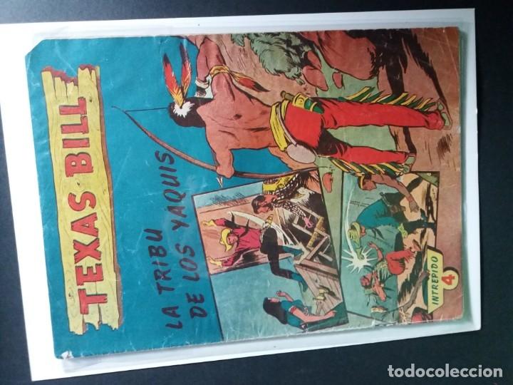 Tebeos: 34 EJEMPLARES DE TEXAS BILL VERTICALES 1954 - Foto 18 - 176591105