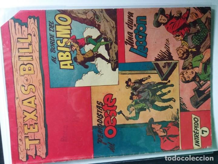 Tebeos: 34 EJEMPLARES DE TEXAS BILL VERTICALES 1954 - Foto 19 - 176591105