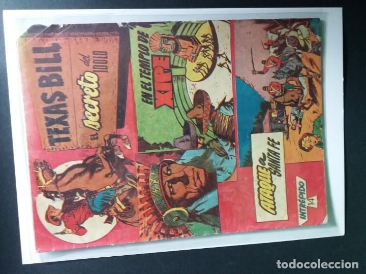 Tebeos: 34 EJEMPLARES DE TEXAS BILL VERTICALES 1954 - Foto 21 - 176591105