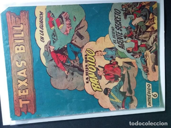 Tebeos: 34 EJEMPLARES DE TEXAS BILL VERTICALES 1954 - Foto 22 - 176591105