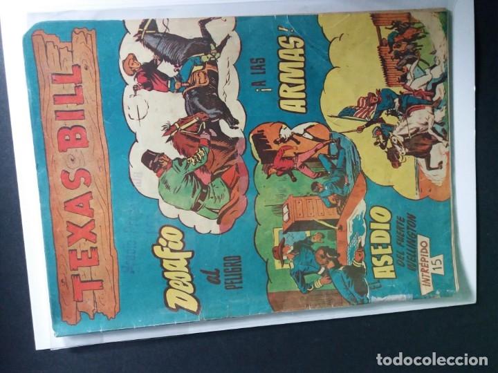 Tebeos: 34 EJEMPLARES DE TEXAS BILL VERTICALES 1954 - Foto 29 - 176591105