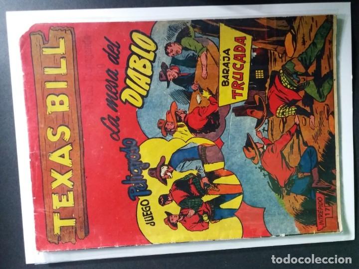 Tebeos: 34 EJEMPLARES DE TEXAS BILL VERTICALES 1954 - Foto 34 - 176591105