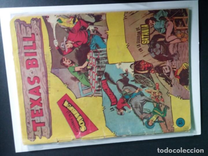 Tebeos: 34 EJEMPLARES DE TEXAS BILL VERTICALES 1954 - Foto 35 - 176591105