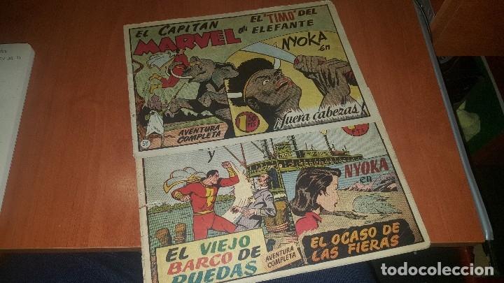 EL CAPITAN MARVEL, NUMEROS 47 Y 58 DE HISPANO AMERICANA, ORIGINALES (Tebeos y Comics - Hispano Americana - Capitán Marvel)