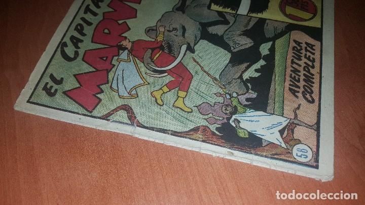 Tebeos: El Capitan marvel, numeros 47 y 58 de hispano americana, originales - Foto 2 - 176839599