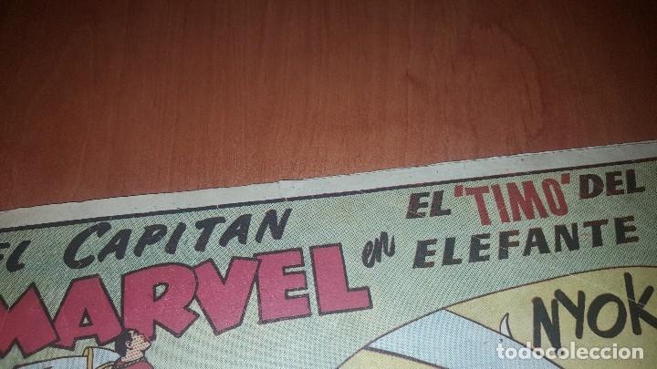 Tebeos: El Capitan marvel, numeros 47 y 58 de hispano americana, originales - Foto 3 - 176839599