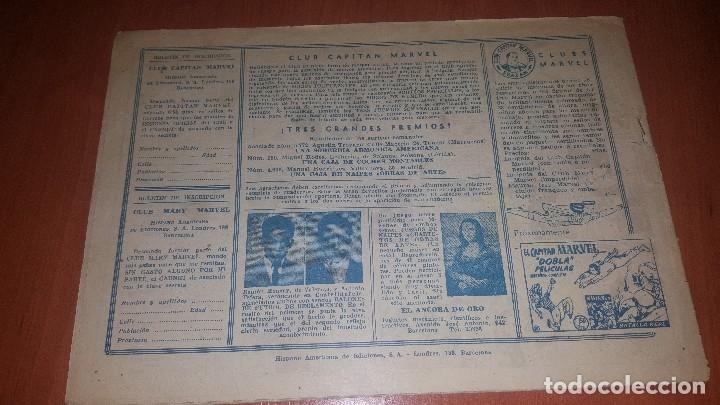 Tebeos: El Capitan marvel, numeros 47 y 58 de hispano americana, originales - Foto 4 - 176839599