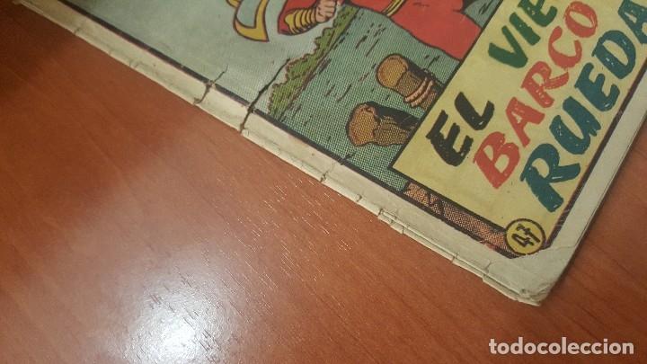 Tebeos: El Capitan marvel, numeros 47 y 58 de hispano americana, originales - Foto 6 - 176839599