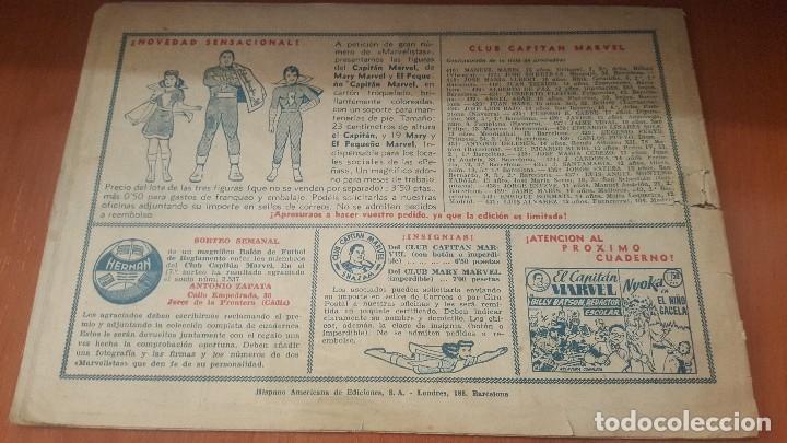 Tebeos: El Capitan marvel, numeros 47 y 58 de hispano americana, originales - Foto 7 - 176839599