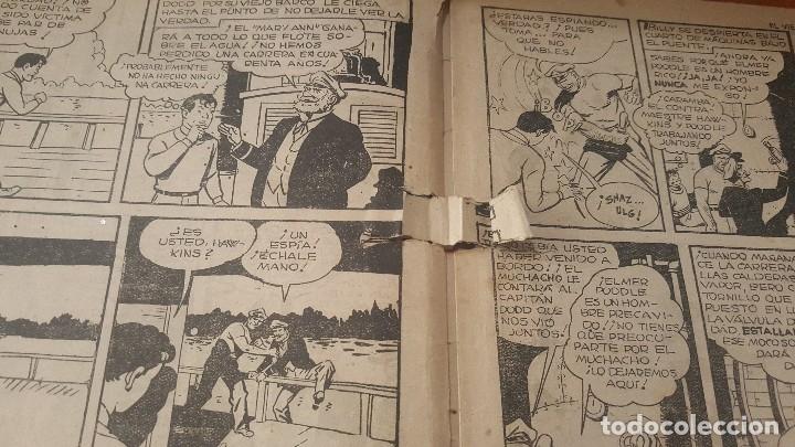 Tebeos: El Capitan marvel, numeros 47 y 58 de hispano americana, originales - Foto 8 - 176839599