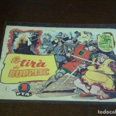 Tebeos: TEBEO HISTORIA I LLEGENDA - Nº 1 EL TIRÀ DE BURRIAC - HISPANO AMERICANA - CATALAN. Lote 176913145