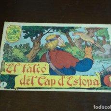 Tebeos: TEBEO HISTORIA I LLEGENDA - Nº 7 EL FALCO DEL CAP D'ESTONA - HISPANO AMERICANA - CATALAN. Lote 176913305