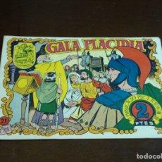 Tebeos: TEBEO HISTORIA I LLEGENDA - Nº 21 GALA PLACIDIA - HISPANO AMERICANA - CATALAN. Lote 176913604