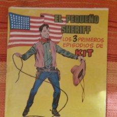 Tebeos: EL PEQUEÑO SHERIFF- LOS TRES PRIMEROS EPISODIOS DE KIT N. 1. Lote 177056513