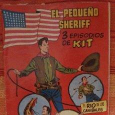Tebeos: EL PEQUEÑO SHERIFF 3 EPISODIOS DE KIT. Lote 177057649