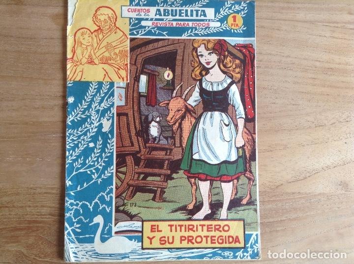 EL TITIRITERO Y SU PROTEGIDA, CUENTOS DE LA ABUELA N173 (Tebeos y Comics - Hispano Americana - Leyendas Infantiles)
