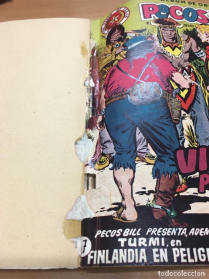Tebeos: TOMO Nº 2 ALBUM DE ORO PECOS BILL DEL NUMERO 17 AL 32 CON TODAS LAS PORTADAS - Foto 2 - 171492522