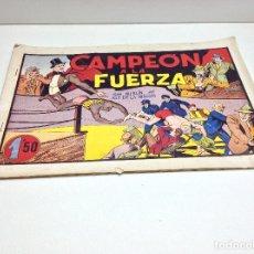 Livros de Banda Desenhada: CAMPEON A LA FUERZA - CON MERLIN EL REY DE LA MAGIA - EDITORIAL HISPANO AMERICANA. Lote 177415414