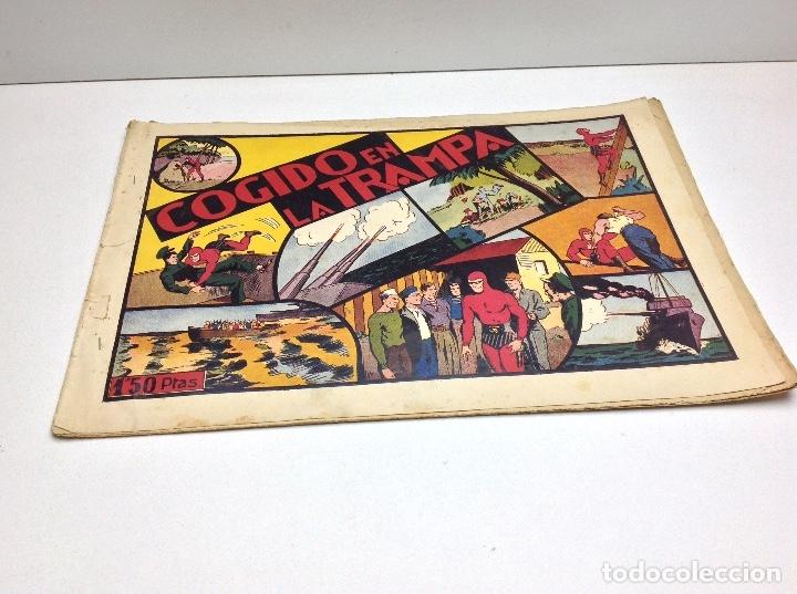 COGIDO EN LA TRAMPA - EDITORIAL HISPANO AMERICANA (Tebeos y Comics - Hispano Americana - Otros)