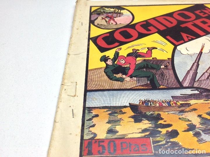 Tebeos: COGIDO EN LA TRAMPA - EDITORIAL HISPANO AMERICANA - Foto 2 - 177415712