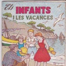 Tebeos: ELS INFANTS I LES VACANCES Nº 4. Lote 177597930