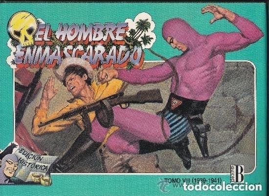 EL HOMBRE ENMASCARADO ,ENCUADERNADO TOMO 8 (Tebeos y Comics - Hispano Americana - Hombre Enmascarado)