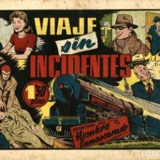 Tebeos: EL HOMBRE ENMASCARADO-65: VIAJE SIN INCIDENTES (HISPANO AMERICANA, 1941) DE LEE FALK Y MC. COY. Lote 177687374