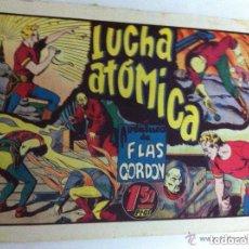 Tebeos: FLAS GORDON - LUCHA ATÓMICA -MUY BIEN - IMPERCEPTIBLE REPARACIÓN ARRIBA DERECHA. Lote 177695055