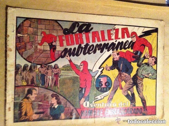 HOMBRE ENMASCARADO - LA FORTALEZA SUBTERRÁNEA (USADO (Tebeos y Comics - Hispano Americana - Hombre Enmascarado)