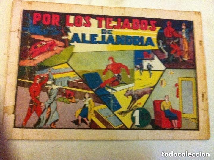 HOMBRE ENMASCARADO - POR LOS TEJADOS DE ALEJANDRÍA -USADO (Tebeos y Comics - Hispano Americana - Hombre Enmascarado)