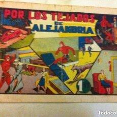 Tebeos: HOMBRE ENMASCARADO - POR LOS TEJADOS DE ALEJANDRÍA -USADO. Lote 177695370