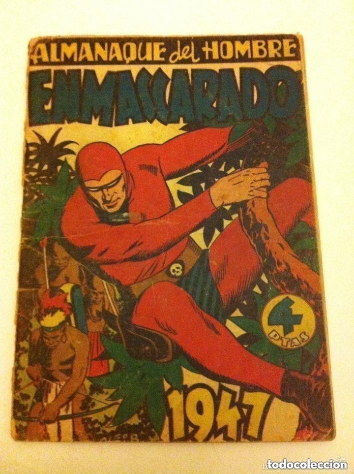 HOMBRE ENMASCARADO - ALMANAQUE 1947 - INCOMPLETO (Tebeos y Comics - Hispano Americana - Hombre Enmascarado)