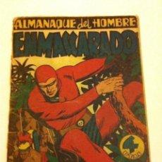 Tebeos: HOMBRE ENMASCARADO - ALMANAQUE 1947 - INCOMPLETO. Lote 177695669