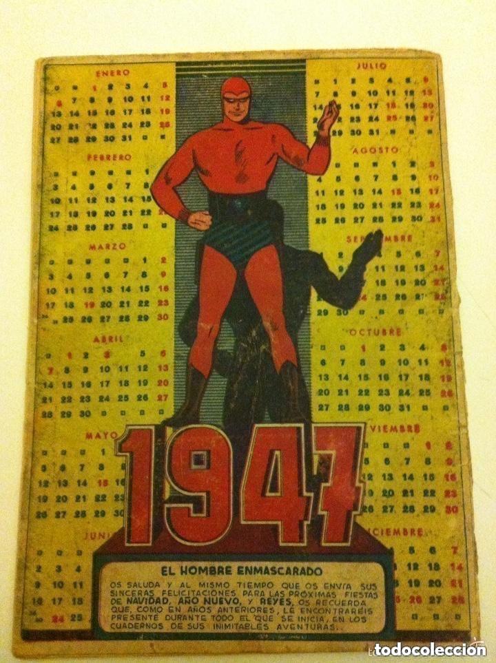 Tebeos: hombre enmascarado - almanaque 1947 - INCOMPLETO - Foto 3 - 177695669