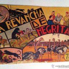 Tebeos: JORGE Y FERNANDO - LA RENVANCHA DE NEGRITA (RAIDO EN PORTADA Y CONTRAPORTADA). Lote 177696128