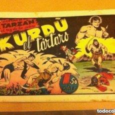 Tebeos: TARZAN - KURDO, EL TÁRTARO -LOMO REPARADO. Lote 177698088