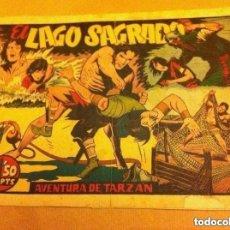 Tebeos: TARZÁN - EL LAGO SAGRADO (LOMO REPARADO. Lote 177698168