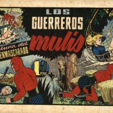 Tebeos: EL HOMBRE ENMASCARADO-69: LOS GUERREROS MULIS (HISPANO AMERICANA, 1941). Lote 177698644