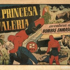 Tebeos: EL HOMBRE ENMASCARADO-82: LA PRINCESA VALERIA (HISPANO AMERICANA, 1941). Lote 177698888