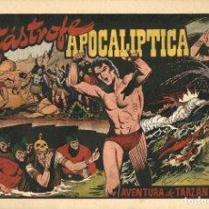 Tebeos: TARZÁN-37: CATÁSTROFE APOCALÍPTICA (HISPANO AMERICANA, 1942). Lote 177700727