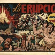 Tebeos: TARZÁN-36: LA ERUPCIÓN (HISPANO AMERICANA, 1942). Lote 177700800