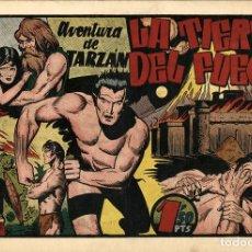 Tebeos: TARZÁN-35: LA TIERRA DEL FUEGO (HISPANO AMERICANA, 1942). Lote 177701340