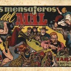 Tebeos: TARZÁN-22: LOS MENSAJEROS DEL MAL (HISPANO AMERICANA, 1942). Lote 177701649