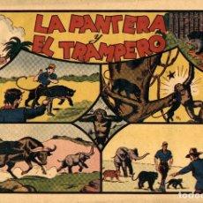 Tebeos: JORGE Y FERNANDO-31: LA PANTERA Y EL TRAMPERO (HISPANO AMERICANA, 1940). Lote 177708543