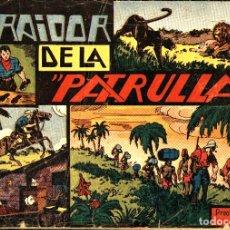 Tebeos: JORGE Y FERNANDO-12: EL TRAIDOR DE LA PATRULLA (HISPANO AMERICANA, 1940). Lote 177708872