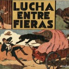 Tebeos: JORGE Y FERNANDO-14: LUCHA ENTRE FIERAS (HISPANO AMERICANA, 1940). Lote 177708980