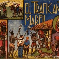 Tebeos: JORGE Y FERNANDO-4: EL TRAFICANTE DE MARFIL (HISPANO AMERICANA, 1940). Lote 177709078