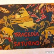 Tebeos: LA TRAGEDIA DE SATURNO. Lote 177716288